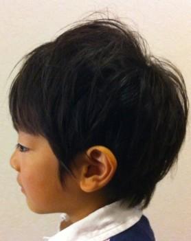 キッズ秋髪 003
